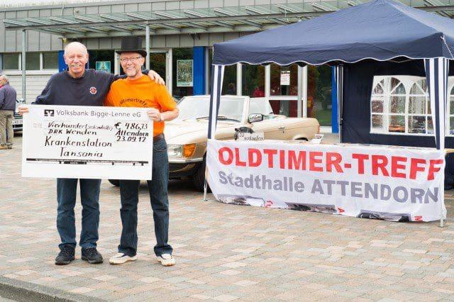Oldtimertreff - Spende2012