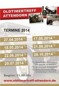 Oldtimertreff Attendorn - 2014