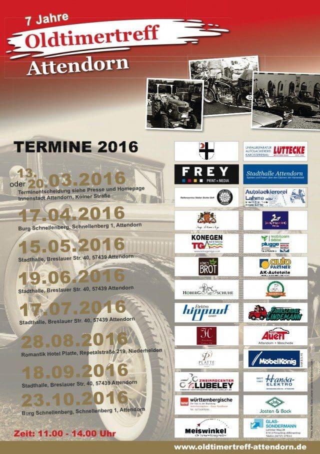 Plakat Oldtimer-Treff-Attendorn-2016