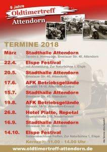 Oldtimertreff-Attendorn - Termine 2018