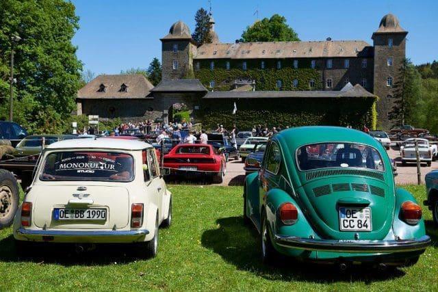 3-Stammtische-Treffen - 90 JAhre Familie Bilsing auf Burg Schnellenberg