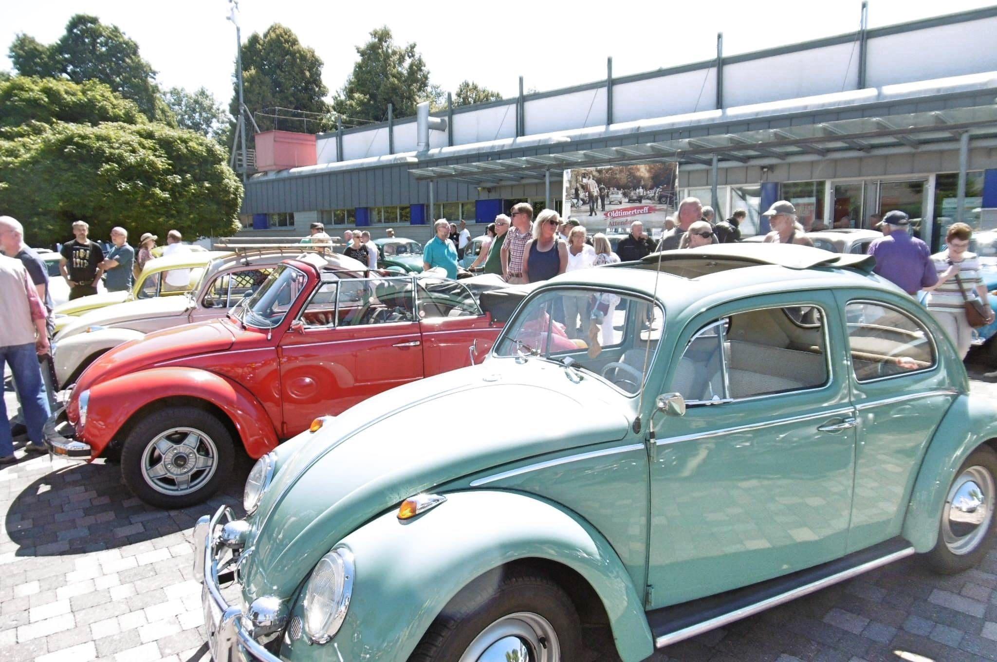 Oldtimertreff Attendorn - Oldtimer - Youngtimer - uto, Bus, LKW, Moped, Motorrad, Trecker oder Sonderfahrzeug