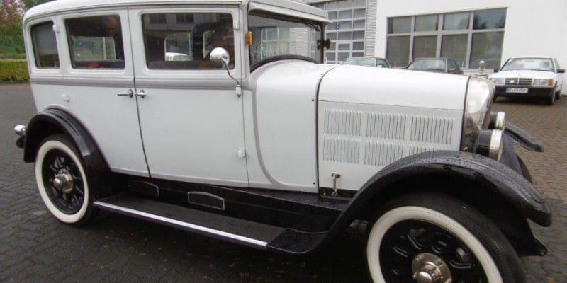 Stoewer 1928 - Oldtimertreff Attendorn 09.2019